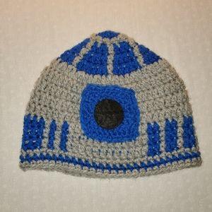 StarWars R2-D2 Crochet Toque Small / Medium